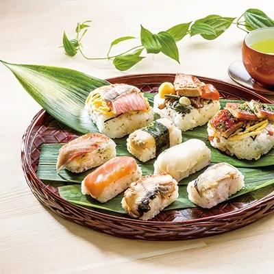 【ふるさと納税】ゐざさ/中谷本舗・蒸し寿司 笹の薫り