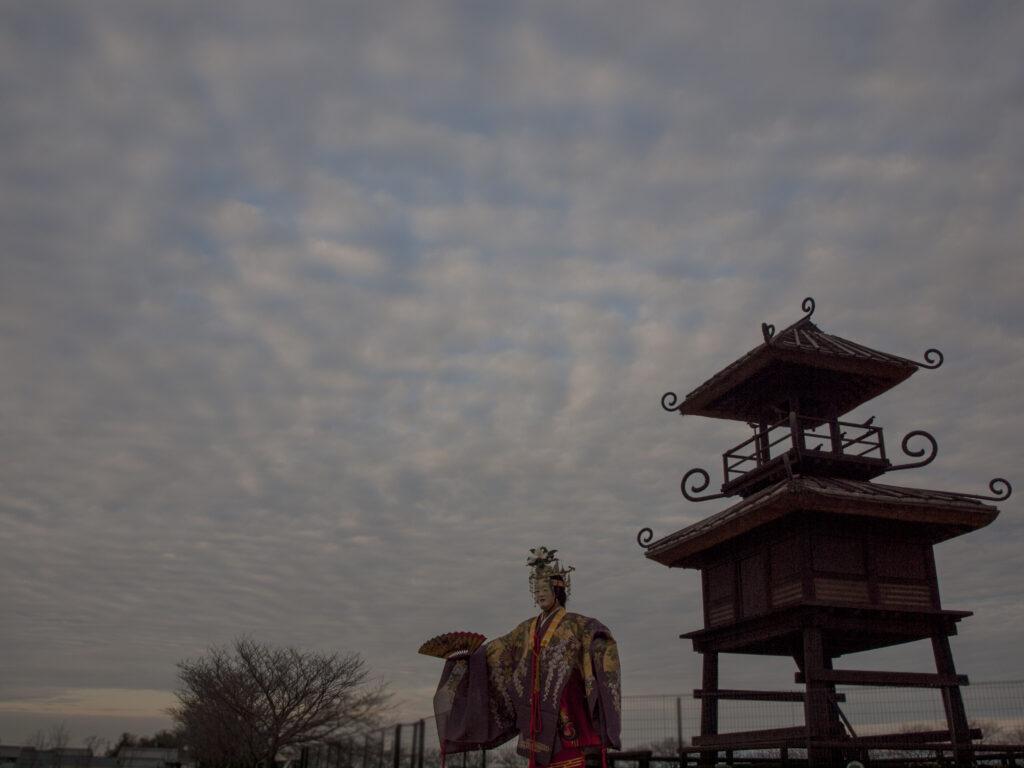 【公開日決定】「三穂津姫まつり」新作能「寿椿(じゅちん)」